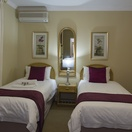 Room 10, Twin beds and Shower