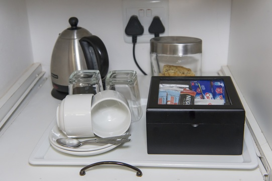 Tea/ Coffee Station in rooms